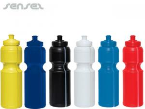 Soft Waterbottles with clear Strip (750ml)