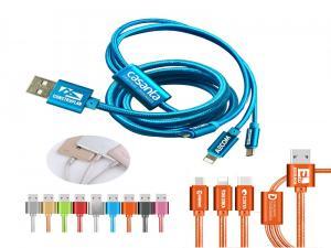 3 in 1 Aluminium Charging Cables