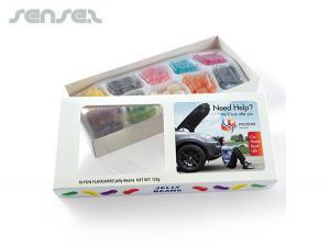 Verschiedene Jelly 'Beanie' Boxs (125 Gramm)