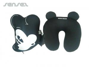 Custom Shaped 2 in 1 Travel Pillows