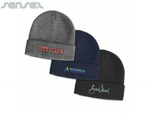 Queens Wolle Bleand Beanies