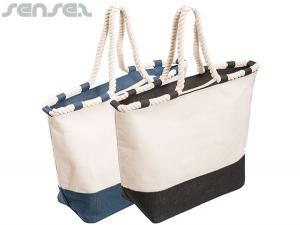 Jute Leinwand-Tasche