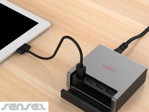 Vier Ladegerät USB-Anschluss
