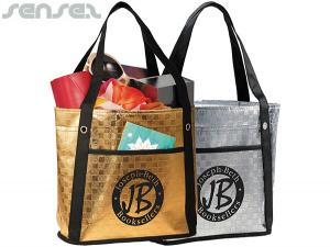 Skylar Metallic Mini Gift Totes