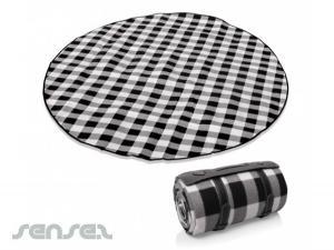 Runde Picknickdecken