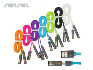 Mini and Micro USB Charger Cables
