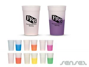 Colour Changing Stadium Cups (500ml)