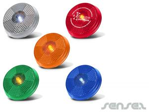 Round Safety Light Reflectors