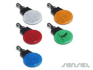 Round Safety Light Reflectors (Triple Function)