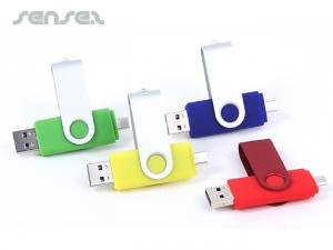 OTG  Swivel USB Sticks (4GB)