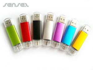 USB OTG Metallic Sticks (4GB)