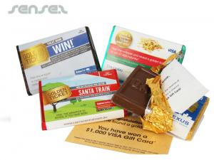 Golden Ticket Chocolate Bars (mini)