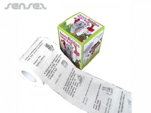 Gedrucktes Toilettenpapier