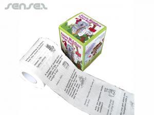 Printed Toilet Paper Rolls