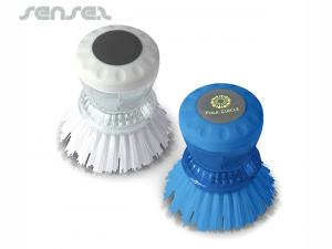 Kitchen Scrubbing Brushes with Dispenser