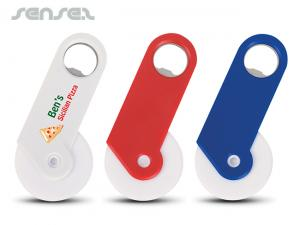 Pizza Cutters with Bottle Opener