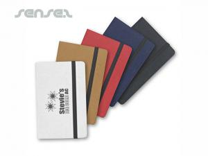Hard Cover Notes And Flags Business Card Cases