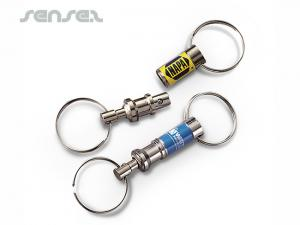 Pull-A-Part Key Rings