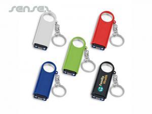 Schlüsselanhänger mit Licht und Lupe