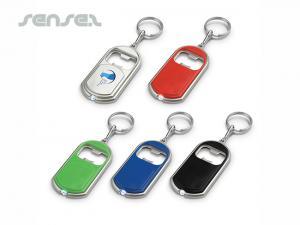 Schlüsselanhänger mit Flaschenöffner und Licht