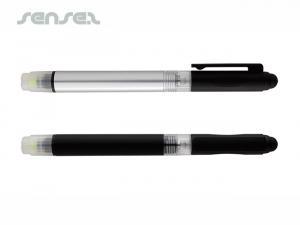 4-In-1 Stifte (Stylus, Textmarker, Taschenlampe)
