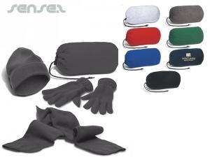 Schal, Beanie, Handschuh-Sets