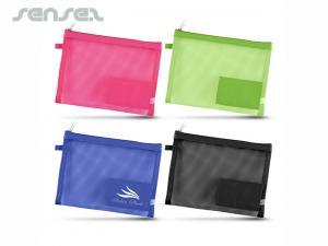Sheer Mesh Cosmetic Bags