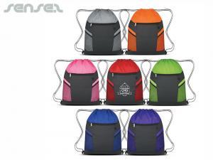 Sporty Drawstring Bags