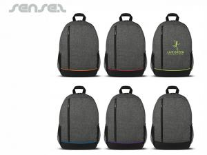 Heather style two tone Backpacks
