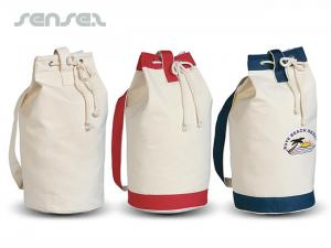 Heavy Canvas Boat Duffle Bags