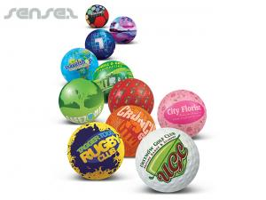 Full Colour Printed Stress Balls
