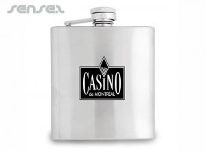 Personalized Stainless Steel Flasks (180ml)