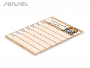 Note Pads A5 - 25 Sheets
