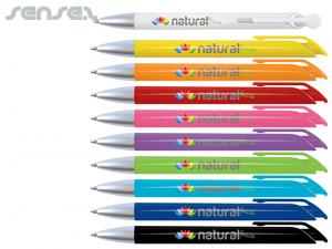 Colourful Ballpoint Pens With Optional Pouch