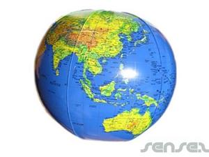 Inflatables - World Globe