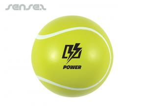 Funny Sports Tennis Balls Yellow