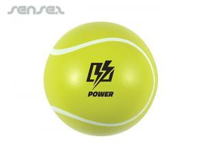 Lustige Sport-Tennisbälle Gelb