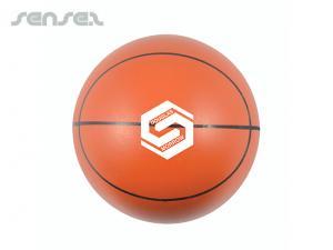 Lustige Spring Sport Basketbaelle