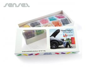 Sweet Jelly Beans in Box 125 Gramm