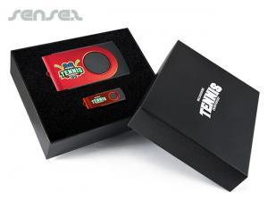 Außergewöhnliche Geschenksets mit Swivel Power Bank und Swivel Flash Drive