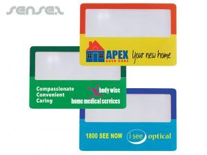 Kompakte Kreditkartengroße Lupen
