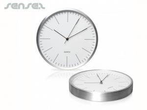 Aluminium Wanduhren 30cm