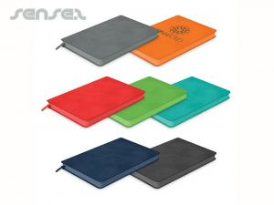 Colour Leatherette Notebooks (A5)