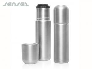 Travel Thermo Bottles With Cup (520ml)