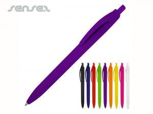 Funky Einfarbige Gummi Kugelschreiber