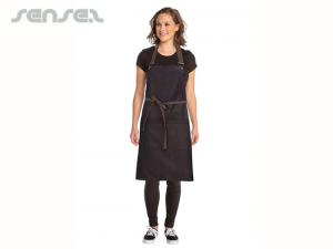 Metro Chef Aprons Black