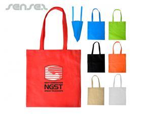 Non-Woven V-förmige Einkaufstaschen