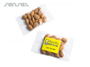Tasty Raw Almond Bags (25g)