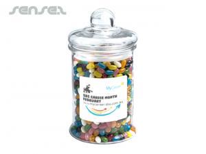 Kundenspezifische Jelly Beans Gläser (1.2kg)