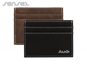 Exquisite Leatherette Super Slim Card Holders And Wallets